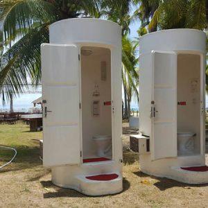 Plus Banheiros de Luxo em eventos