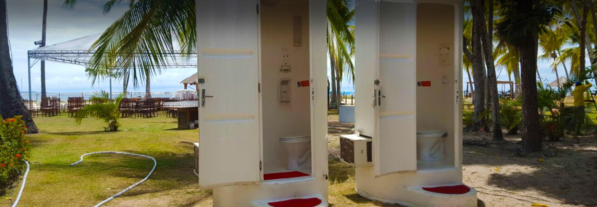 Banheiros de Luxo exclusivos para seu evento
