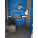 aluguel de banheiro químico luxo Carpina