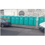 banheiro químico vip para eventos Casa Amarela
