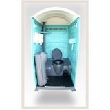 banheiro químico de luxo para evento