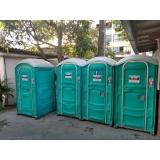 banheiro químico vip para locação