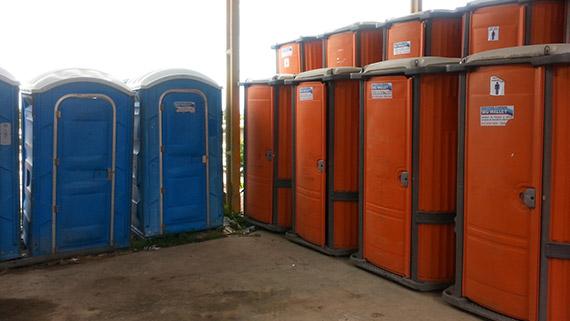 Banheiros químicos de qualidade